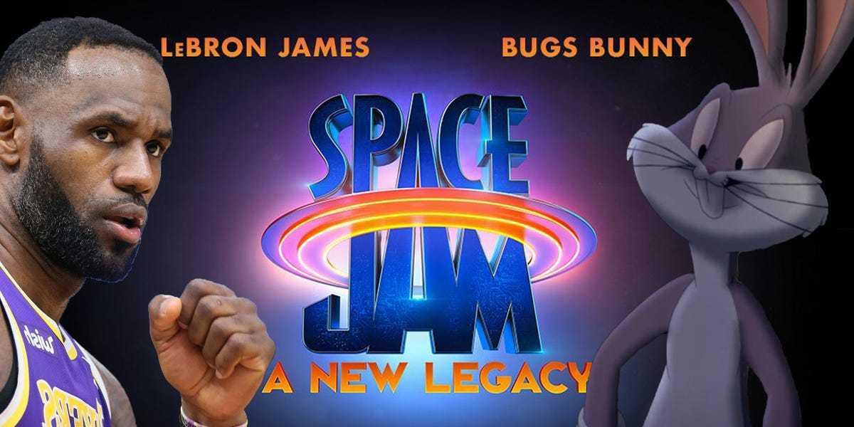 Space Jam 2: Bugs Bunny e LeBron James nel sequel