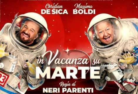 In vacanza su Marte: Boldi e De Sica superano Nolan