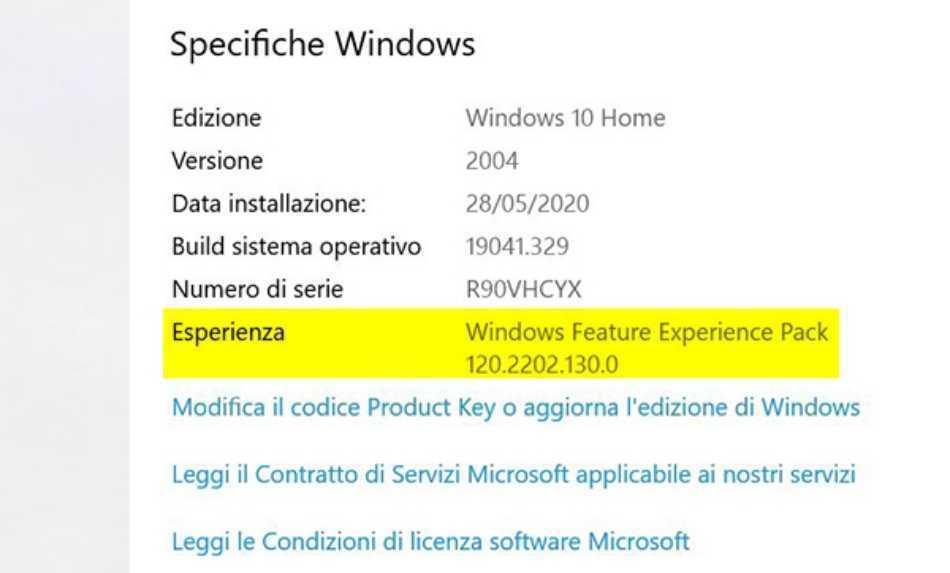 Windows 10: ecco il primo update al Feature Experience Pack