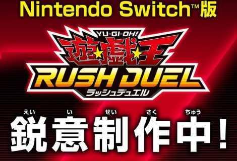 Yu-Gi-Oh Rush Duel: annunciato il nuovo gioco per Switch