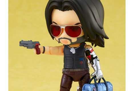 Cyberpunk 2077: ecco Johnny Silverhand in versione Nendoroid!