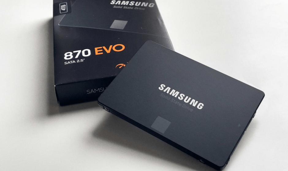 Samsung SSD 870 EVO: si allarga la famiglia!