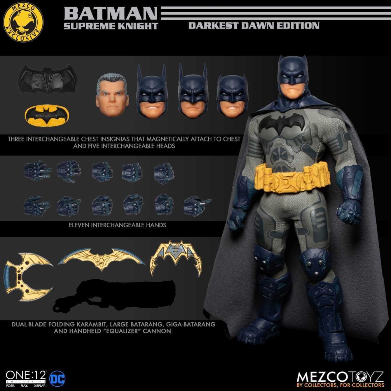 Batman: Supreme Knight, Darkest Dawn Edition è disponibile in preordine!