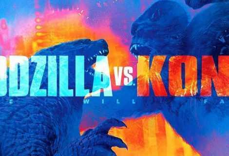 Godzilla vs Kong: il trailer del nuovo incredibile monster movie