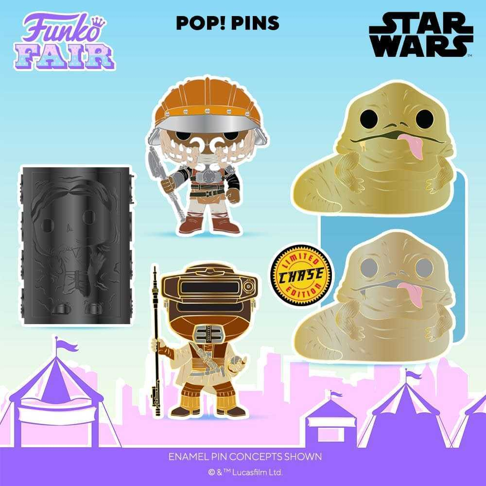 Star Wars: arrivano i nuovi Funko Pop! dalla Funko Fair 2021