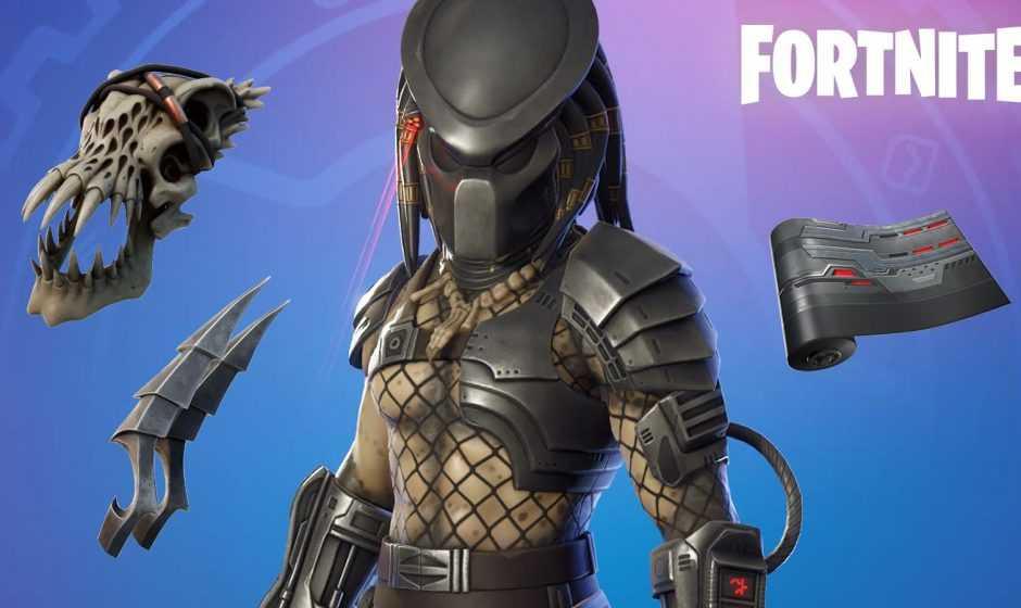 Fortnite: skin di Predator nel Pass Battaglia