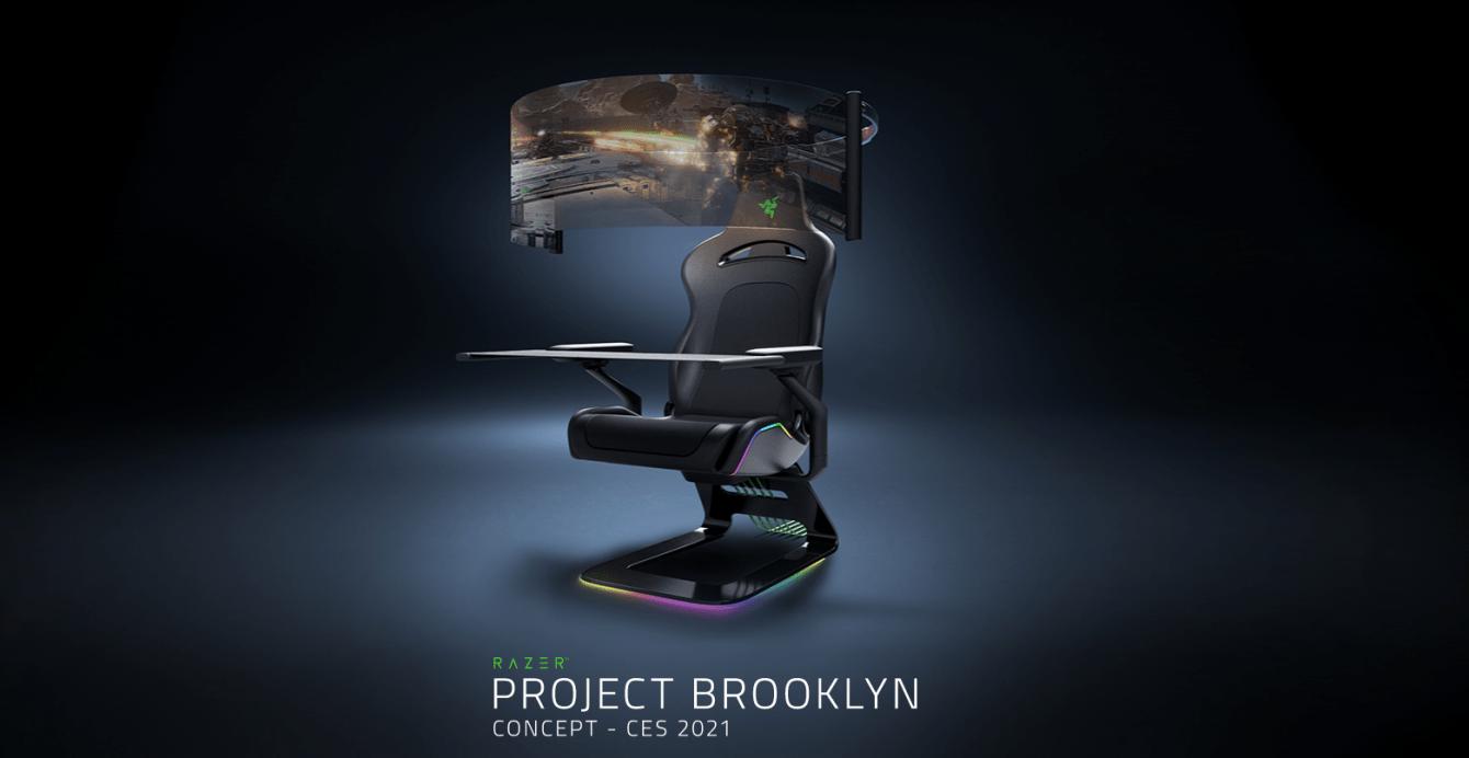 Razer: presentato al CES 2021 Project Brooklyn