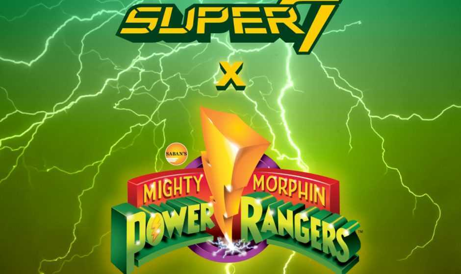 Da Super7 e Hasbro arrivano le action figure dei Power Rangers