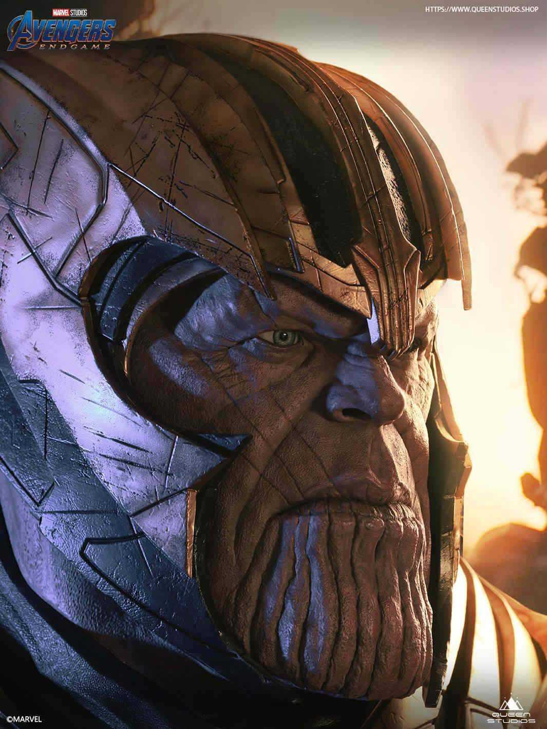 Avengers: Endgame, arriva la statua di Thanos in scala 1:1