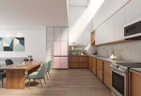 Samsung: al CES 2021 la gamma di frigoriferi BESPOKE