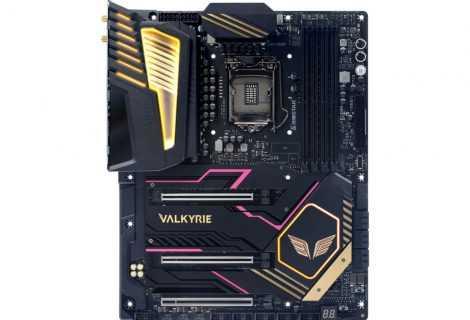 BIOSTAR VALKYRIE: ecco le nuove schede madri Z590 top di gamma
