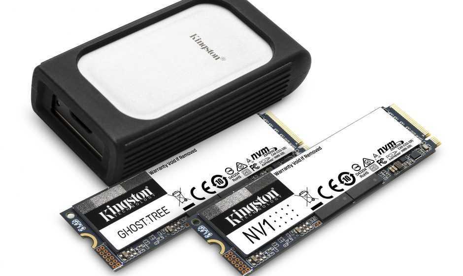 Kingston annuncia i nuovi SSD NVMe e la serie Workflow