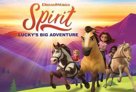 Annunciato Dreamworks Spirit La Grande Avventura di Lucky