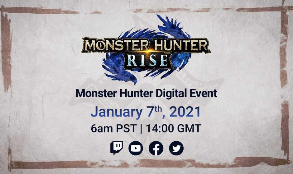 Monster Hunter Rise: diretta streaming in arrivo