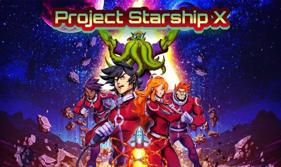 Recensione Project Starship X: un bullet hell stroboscopico