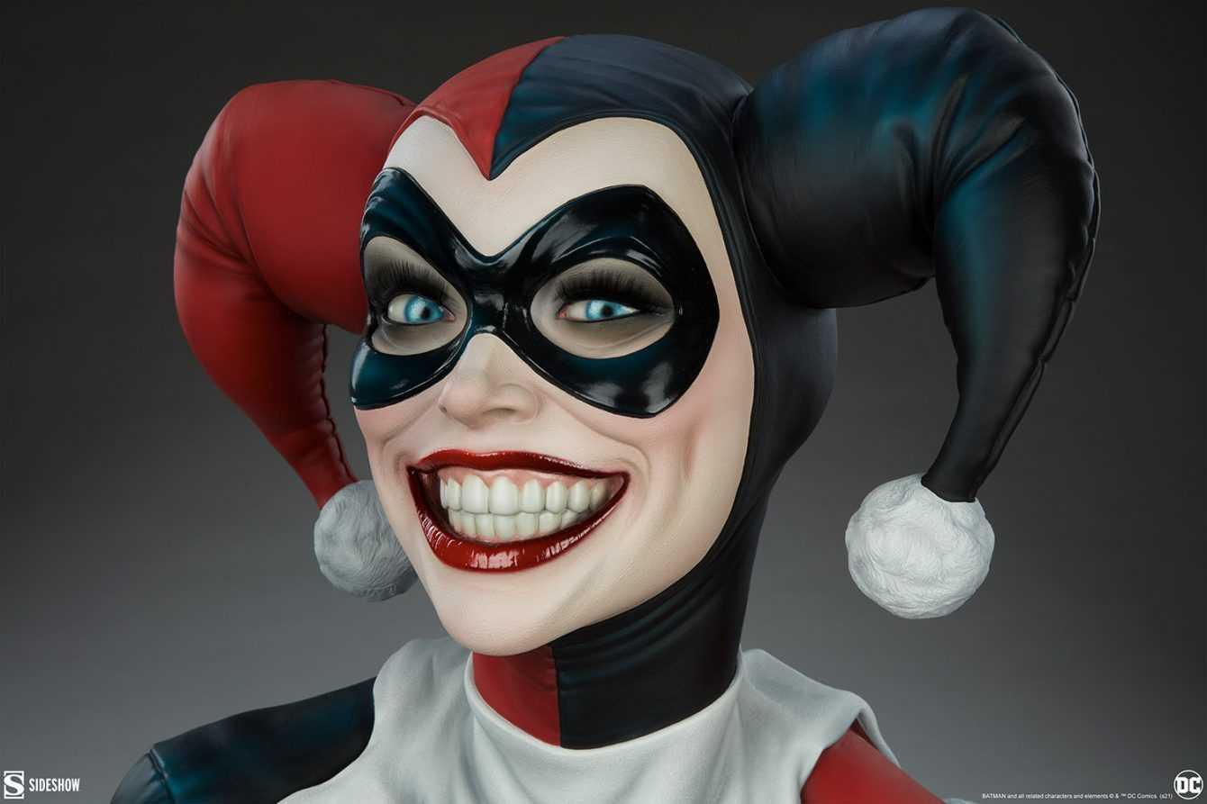 Harley Quinn: ecco il busto a grandezza naturale di Sideshow