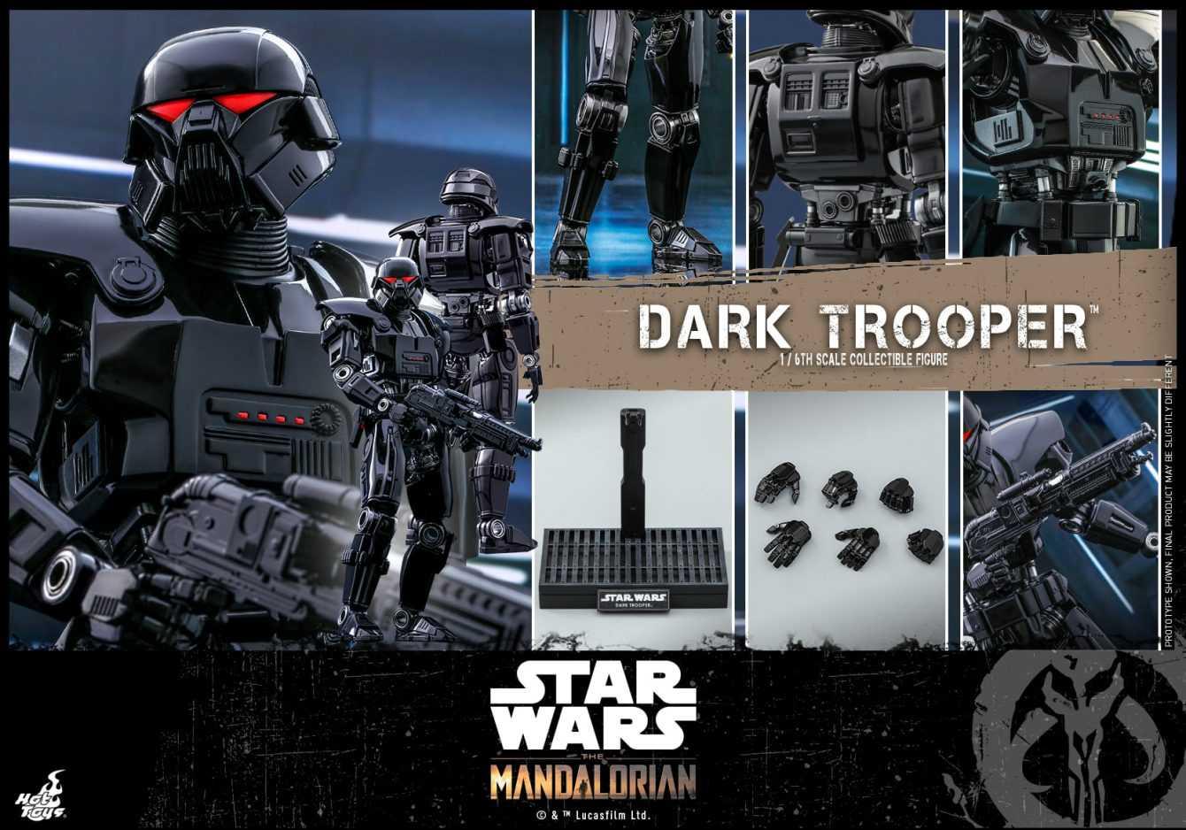 The Mandalorian: arrivano le action figure dei Dark Trooper