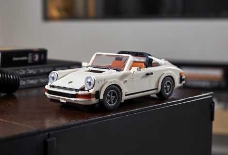 LEGO: ecco il nuovo set Porsche 911 Turbo e 911 Targa