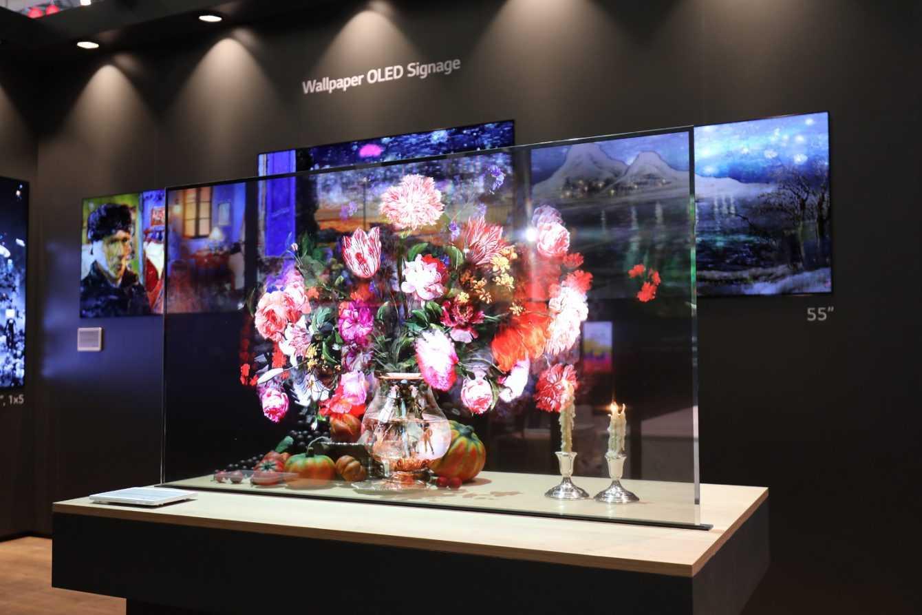LG Display: presto disponibili gli OLED trasparenti