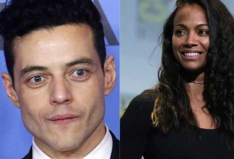 Rami Malek e Zoe Saldana nel nuovo film di David O.Russell