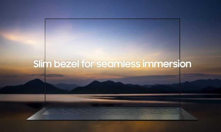 Samsung Blade Bezel: portatile con fotocamera sotto il display
