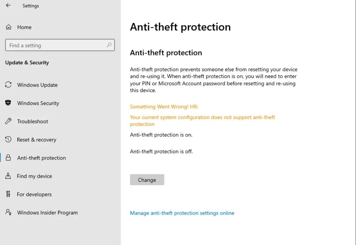 Windows 10X: arriva l'antifurto con Anti-Theft Protection
