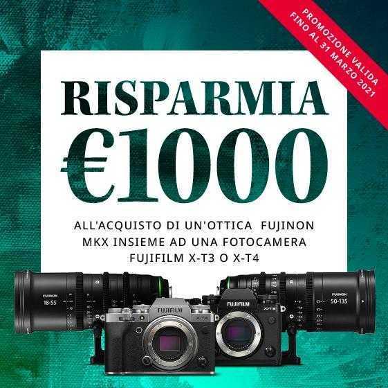 FUJIFILM: fino a 1000 euro di sconto su X-T4 o X-T3