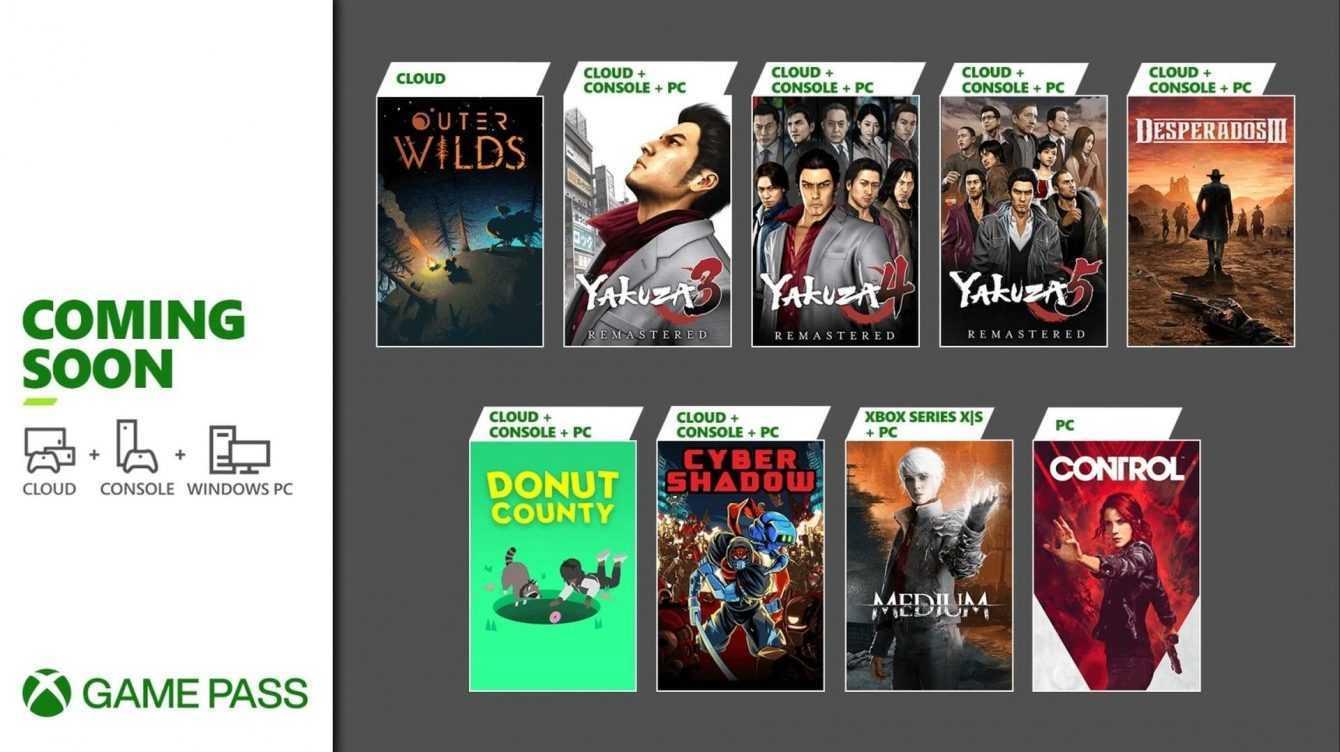 Xbox Game Pass: nuovi giochi in arrivo a Gennaio