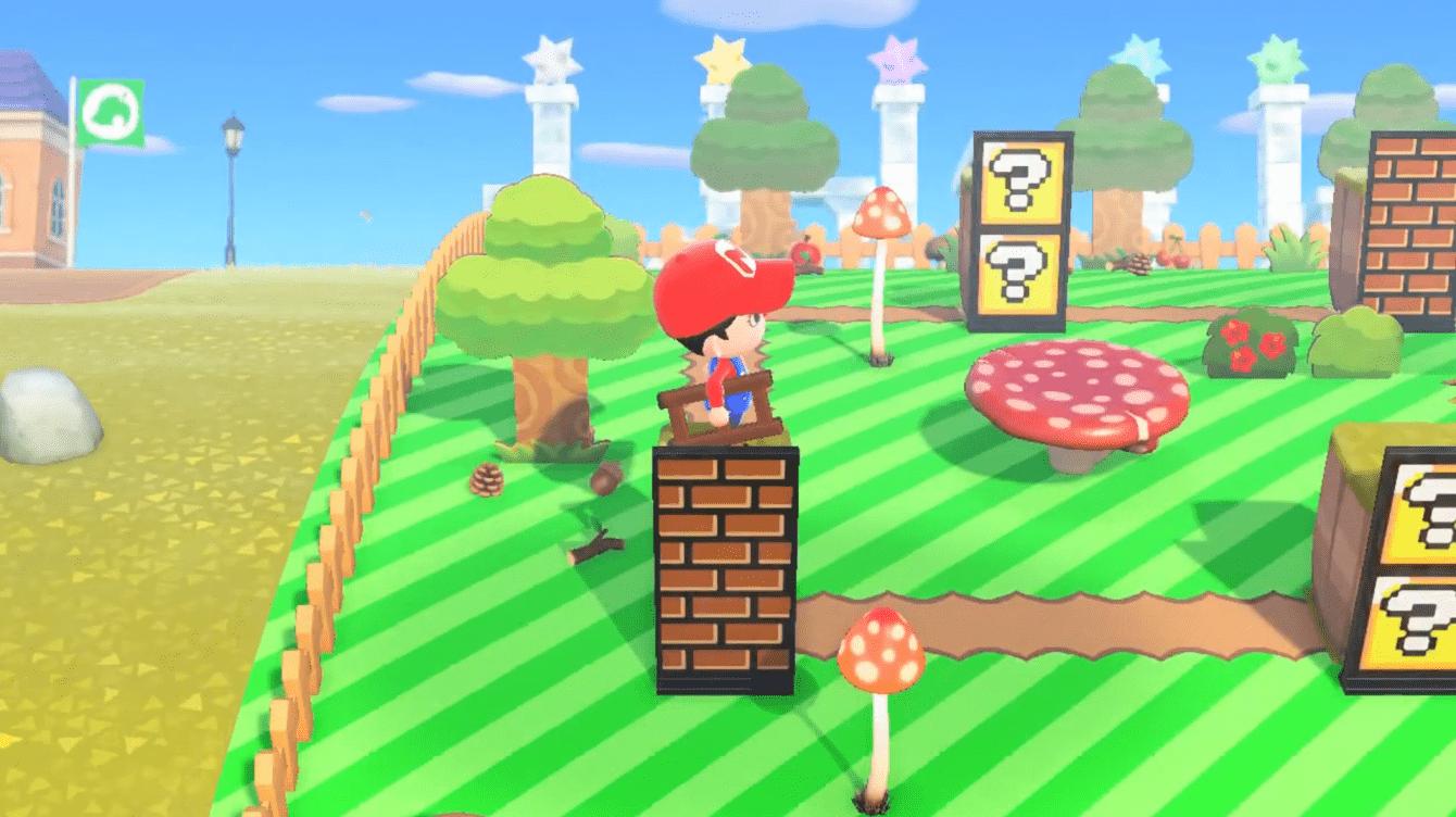 Animal Crossing: New Horizons, la community italiana crea un'isola a tema Super Mario