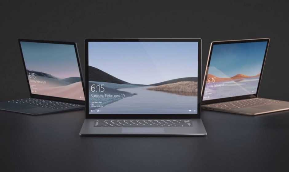 Surface Laptop 4: monterà i processori AMD della scorsa generazione