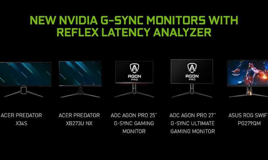 Nvidia: al CES 2021 annunciati i nuovi monitor e tv con G-Sync