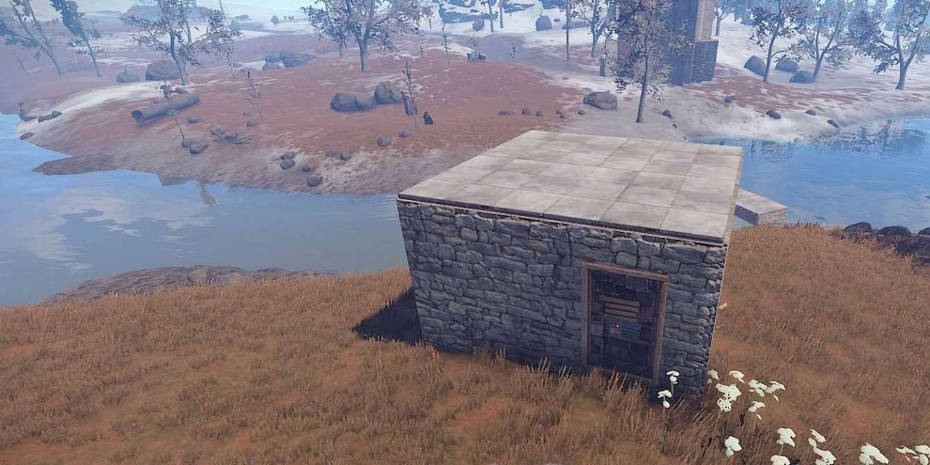 Rust: come costruire un rifugio e una casa