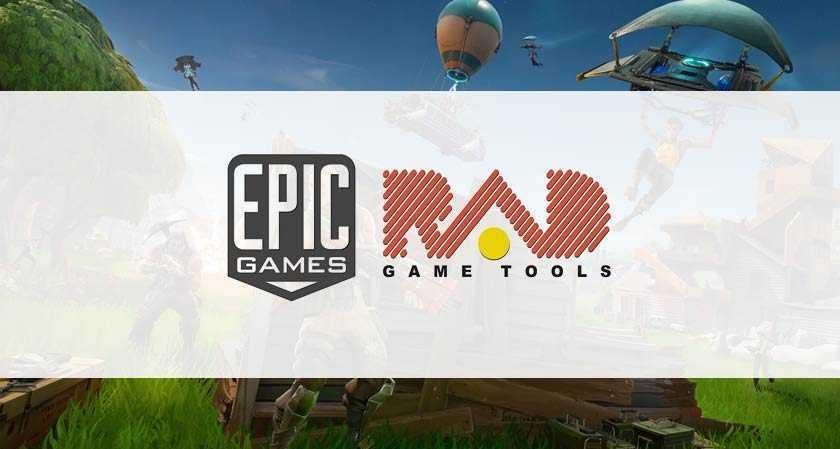 Epic Games: Rad Game Tools è l'ultimo acquisto