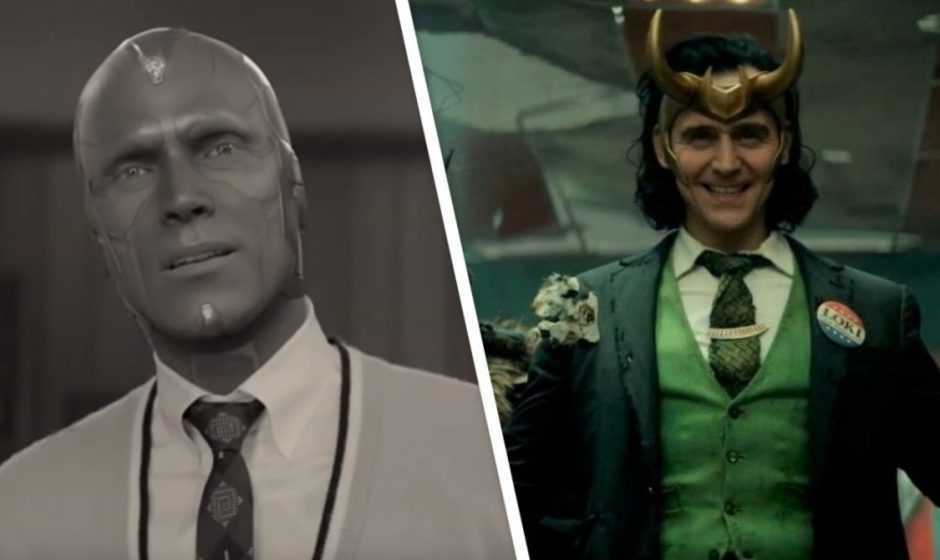 WandaVision: Tom Hiddleston scherza con Paul Bettany