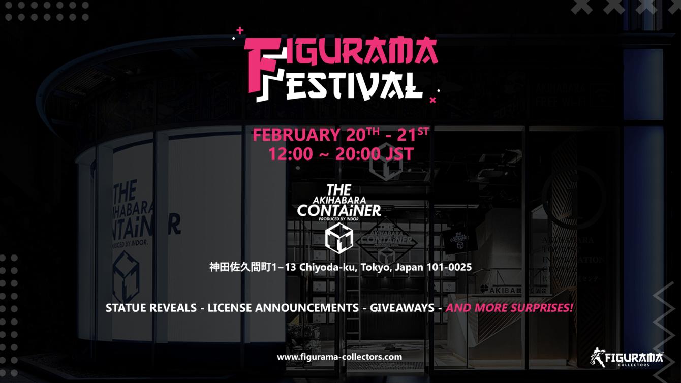 Figurama Collectors annuncia il primo Figurama Festival!