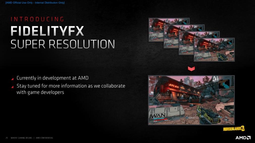 AMD FidelityFX Super Resolution: la risposta al DLSS in primavera?