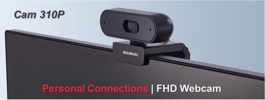 AVerMedia: presentate da poco due nuove webcam ad alte prestazioni