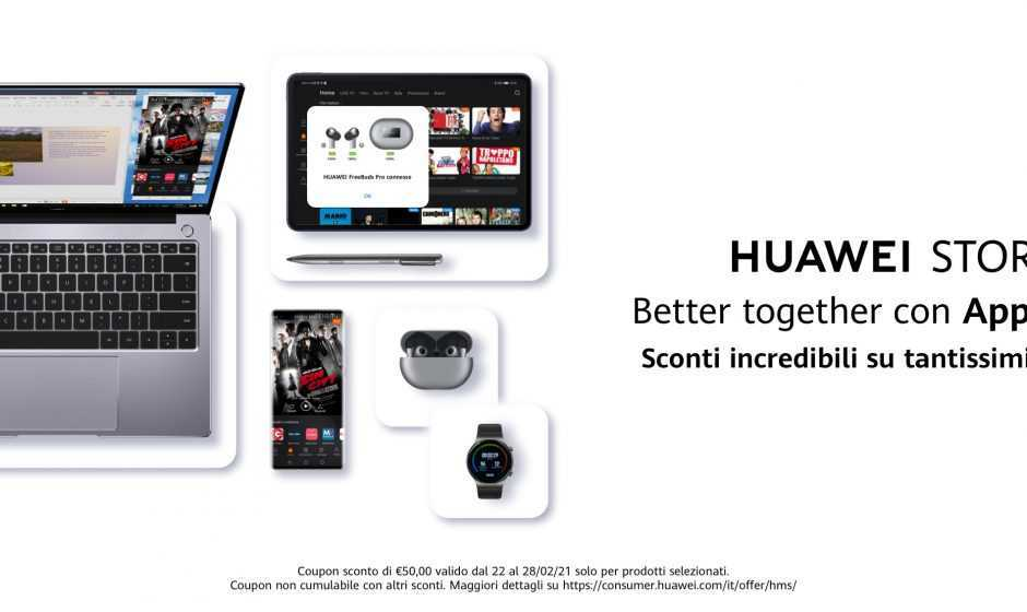 Huawei Store: le offerte HMS di questa settimana