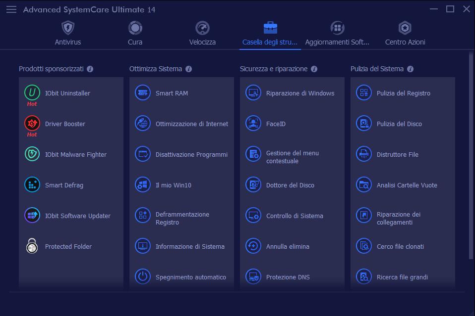 Recensione Advanced SystemCare Ultimate 14