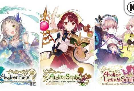 Gust svela Atelier Mysterious Trilogy Deluxe Pack