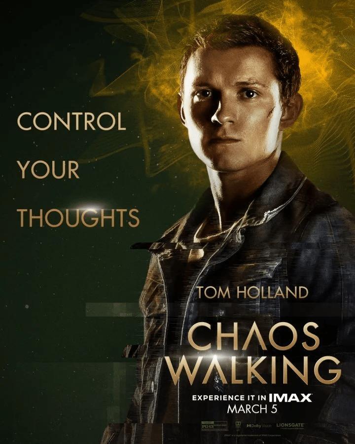 Chaos Walking: rilasciati i character poster