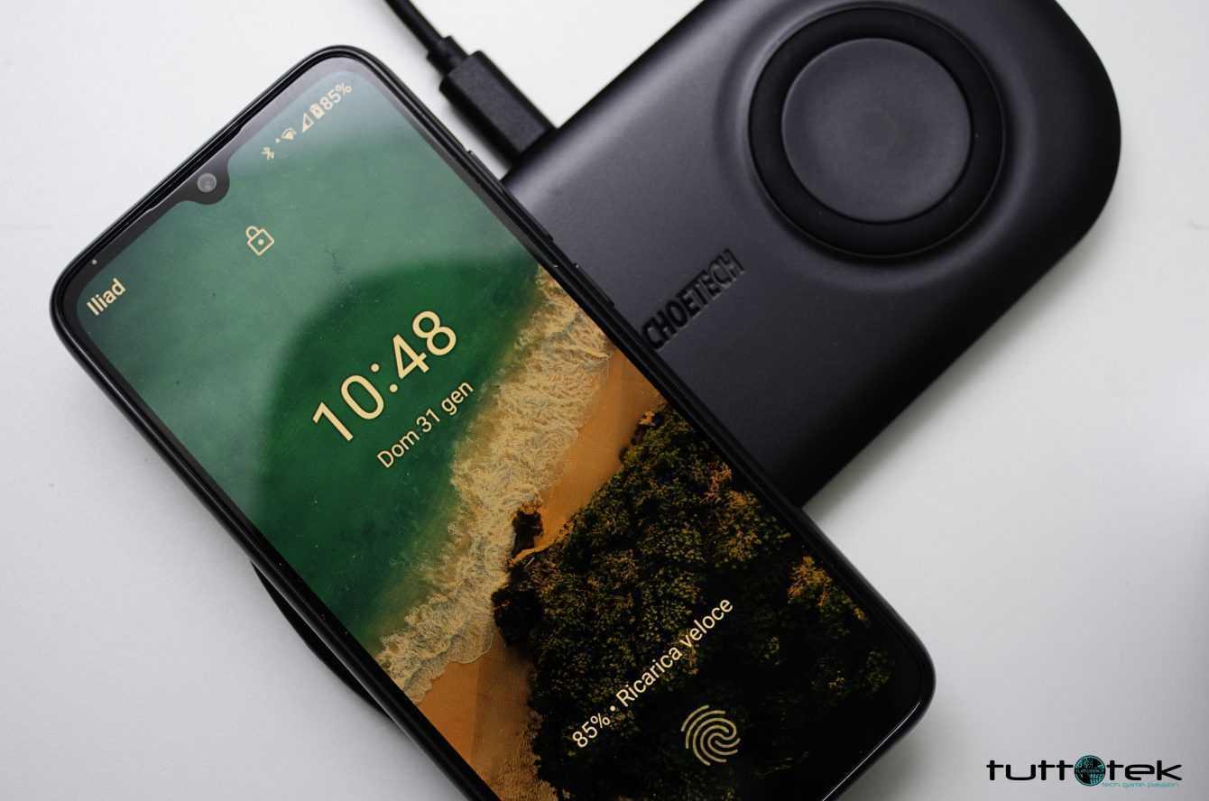 Recensione ricarica wireless Choetech: per smartphone e smartwatch