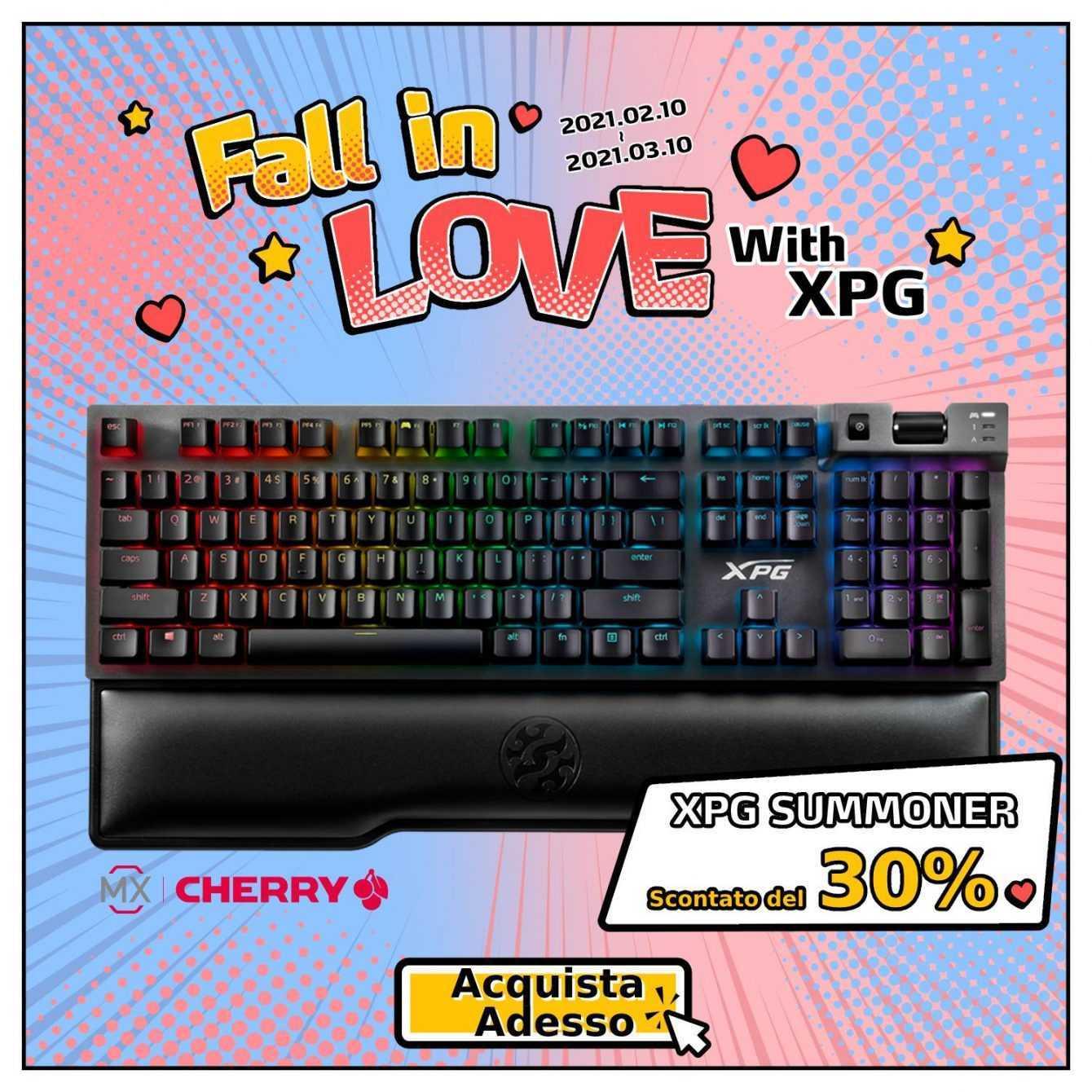 """XPG lancia un contest: ecco come partecipare ad """"Innamorati di XPG"""""""