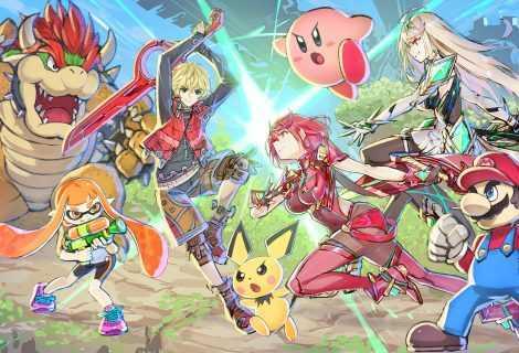 Super Smash Bros. Ultimate: il Direct per Pyra e Mythra