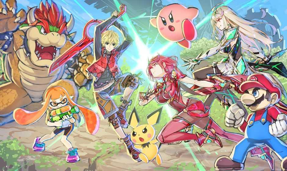 Super Smash Bros. Ultimate: Pyra e Mythra sono le due nuove combattenti