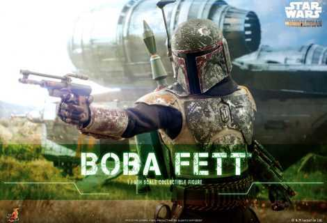 The Mandalorian: ecco l'action figure di Boba Fett by Hot Toys