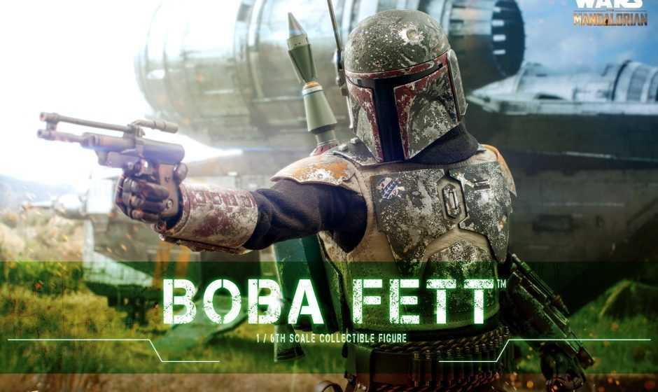 The Mandalorian: ecco l'action figure di Boba Fett by Hot Toys