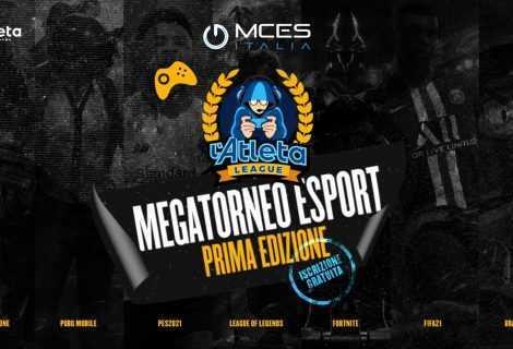 Atleta League: MCES Italia da il via al suo enorme torneo online