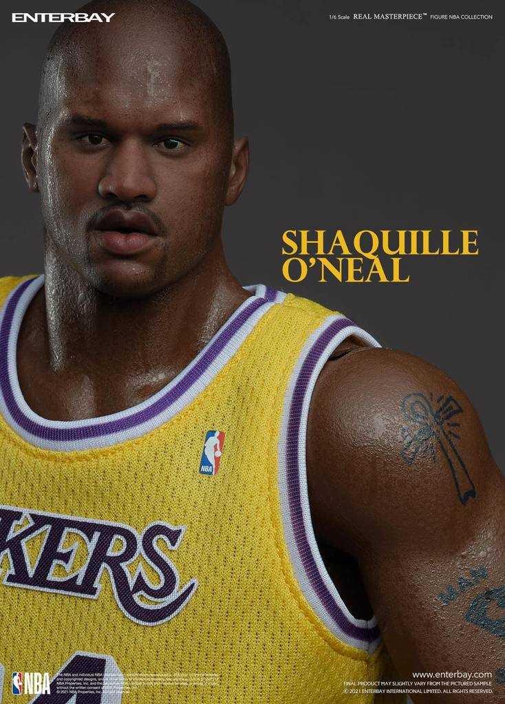 Shaquille O'Neal: arriva l'action figure targata Enterbay
