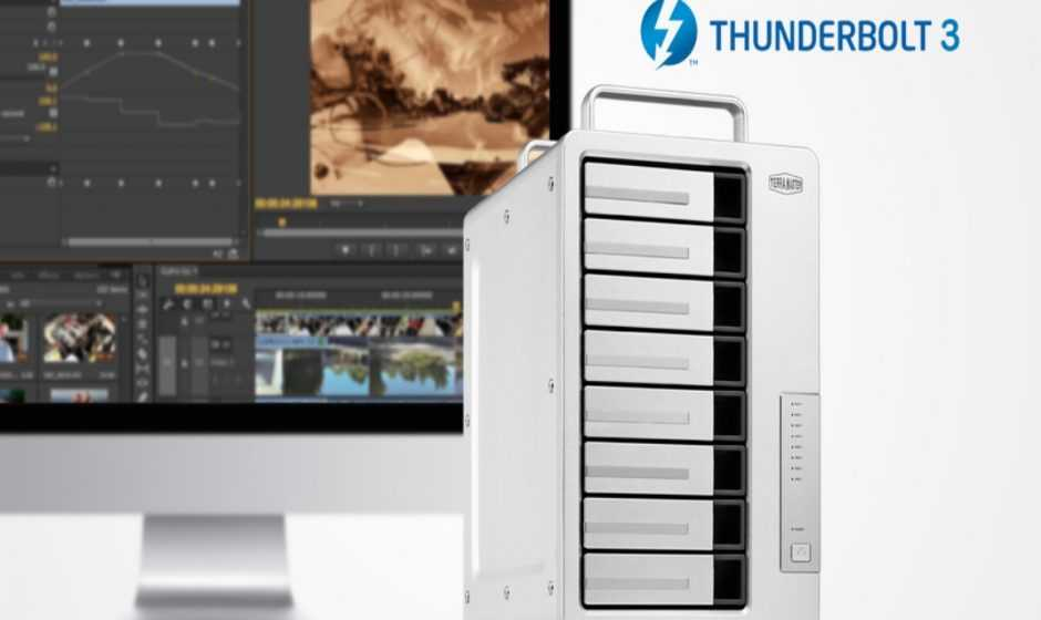 TerraMaster: ecco D8 Thunderbolt 3 per i professionisti creativi